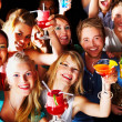 Royalty-Free Stock Photo: Group of enjoying cocktails
