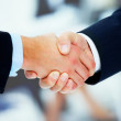 Royalty-Free Stock Photo: Handshake of two businessmen