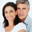 Royalty-Free Stock Photo: Closeup of a lovely mature couple standing together