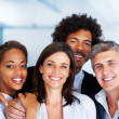 Royalty-Free Stock Photo: Group of happy business colleagues