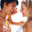 Royalty-Free Stock Photo: Portrait of a romantic couple enjoying their vacation