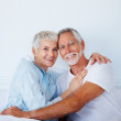 Royalty-Free Stock Photo: Portrait of a happy senior couple in love