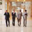 Royalty-Free Stock Photo: Group of business walking together
