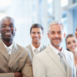 Royalty-Free Stock Photo: A group of successful business colleagues together