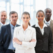 Royalty-Free Stock Photo: Team of business confidently standing together