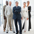 Royalty-Free Stock Photo: Confident successful group of business posing together