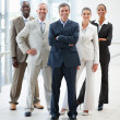 Royalty-Free Stock Photo: Full length image of business standing together