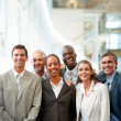 Royalty-Free Stock Photo: Group of happy business colleagues together