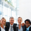 Royalty-Free Stock Photo: Happy team of business together