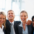 Royalty-Free Stock Photo: Successful of a happy group of business