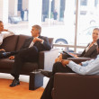 Royalty-Free Stock Photo: Professional business sitting in the waiting room