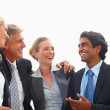 Royalty-Free Stock Photo: Diversity: Happy team of business colleagues