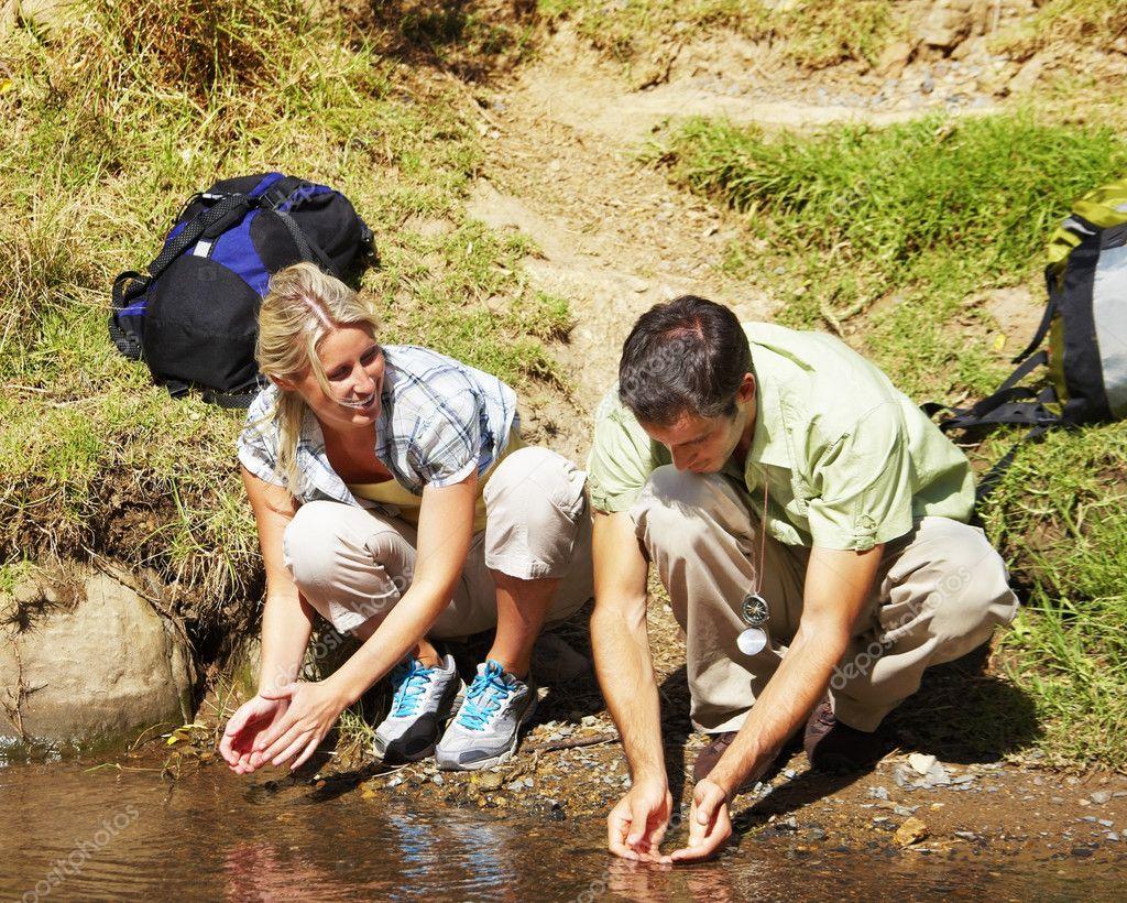 Туристки в походе 15 фотография