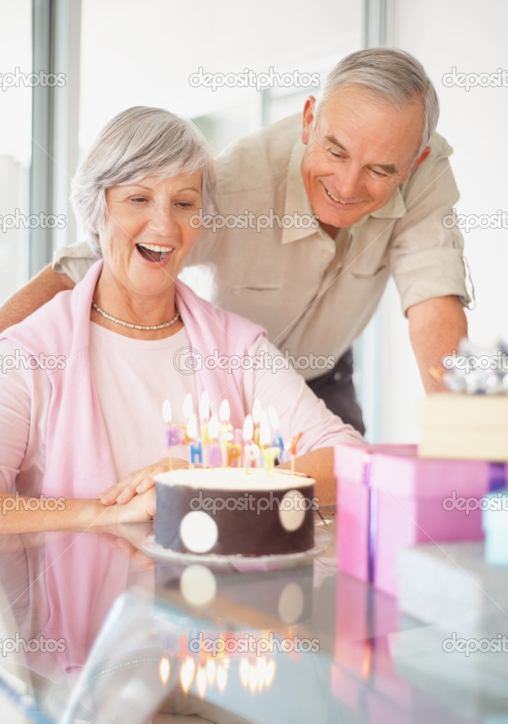 depositphotos 3359393 Old couple celebrating womans birthday at home mature mama fucks a young couple. mature mama fucks a young couple and takes ...