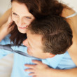 Happy couple sharing a pleasant moment - Foto Stock