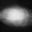Seamless retro pattern background  in black and white - Stock Photo
