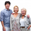 Royalty-Free Stock Photo: Happy mature family smiling together