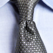 Detail view of collar tie shirt - Closeup - Photo