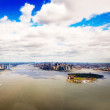 Aerial view of Lower Manhattan New York City - Lizenzfreies Foto