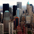 Royalty-Free Stock Photo: Skyscrapers - Aerial view of buildings in New York city