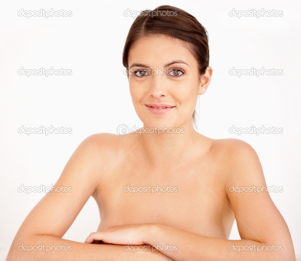 depositphotos 3462221 Hot young naked lady over white background Hot Young Woman Edit