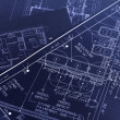 Blueprints — Stock Photo #2802957