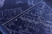 Blueprints — Stock Photo
