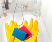 Tidy bath — Stock Photo