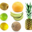 Selection of fruits — Stock Photo