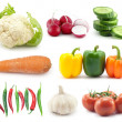 Selection of vegetables - Stockfoto