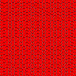 Stock Photo: Background from red hexagons.