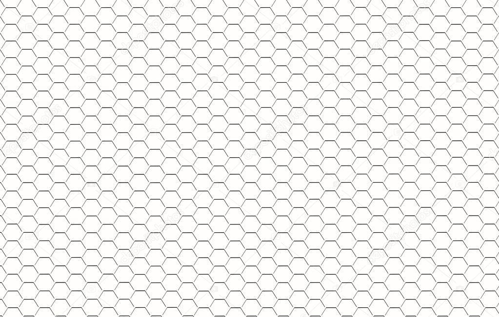 Concave hexagon on geoboard