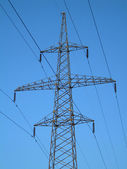 Tower power line. — Foto Stock