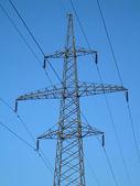 Tower power line. — Stockfoto