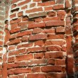 Fragment of old brick wall. — Stok Fotoğraf #3481571