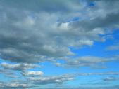 De hemel met wolken. — Stockfoto