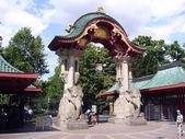 Berliner Elefantentor — Stock Photo