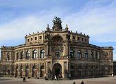 Semper opera in dresden — Stock Photo
