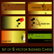 Royalty-Free Stock Vector Image: Vector set of elegant call cards