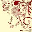 kącik kwiatowy wektor — Wektor stockowy  #2900477