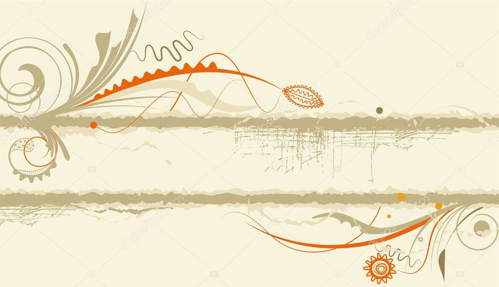 Frame or banner in grungy style  Stock Vector #2933879