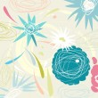 Royalty-Free Stock Vector Image: Retro floral pattern