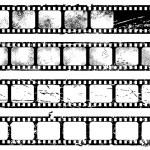 Grunge filmstrips — Stock Vector #3037116