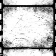 Old filmstrip - Stock Vector