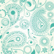 Royalty-Free Stock Vector Image: Paisley pattern