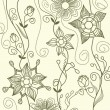 Floral background — Vetorial Stock #3471974