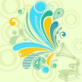 Music concept — Stock Vector
