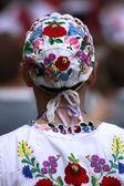 Robe folklorique hongroise traditionnelle — Photo