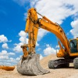 thumbnail of Yellow Excavator at Construction Site