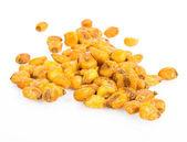 Roast salted maize grain — Stock Photo